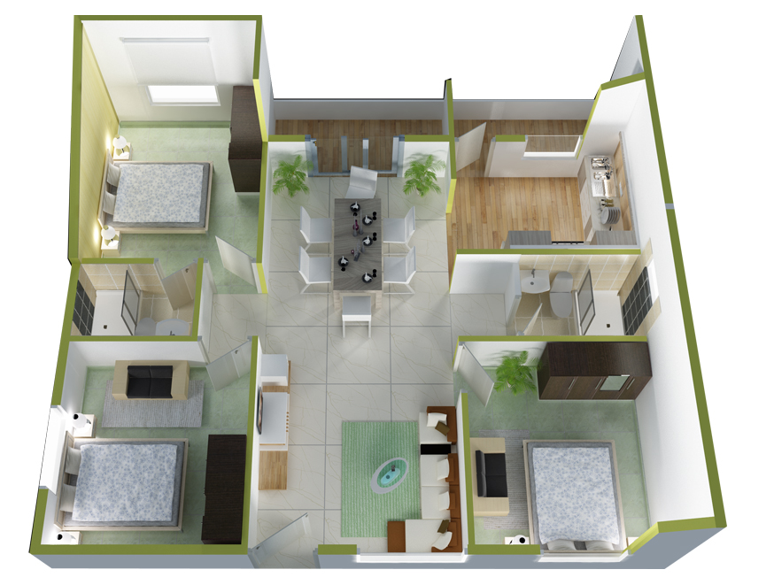 Flats In Horamavu Bangalore Ds Max Solitaire